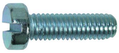 metal screw pan head slotted