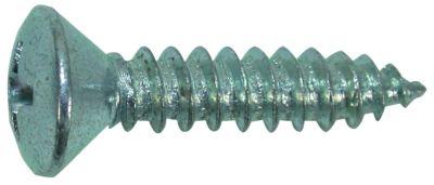 tapping screw countersunk pan head