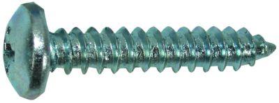 tapping screw pan head