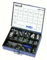 ASSORTMENT ABA HOSE CLAMPS 135-PIECE (1PC)