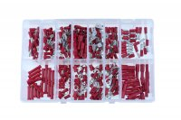 ASSORTMENT CABLE LUGS RED 280-PIECE (1PC)
