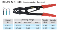 CRIMPING PLIERS FOR UNINSUL STARTER LUGS 6,0-25MM² (1PC)