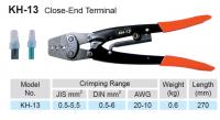 CRIMPING TOOLS FOR INSUL TERMINALS 0,5-6,0MM2 (1PC)
