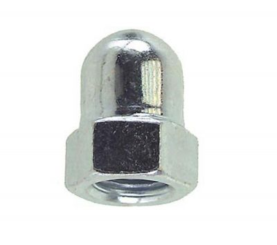 cap nut steel plated