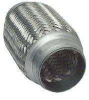 FLEXIBLE EXHAUST PIPE SHORT 45,7X100MM (1PC)
