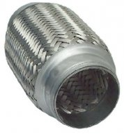 FLEXIBLE EXHAUST PIPE SHORT 55,7X200MM (1PC)