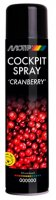 MOTIP COCKPITSPRAY CRANBERRY 600ML (1PC)