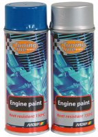 MOTIP ENGINE PAINT VOLVO PENTA GREEN 400ML (1PC)