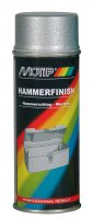 MOTIP HAMMER RATE PAINT SILVER 400ML (1PC)