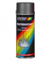 MOTIP HEAT-RESISTANT PAINT GRAY 800° C 400ML (1PC)