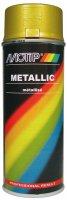 MOTIP METALLIC PAINT GOLD 400ML (1PC)