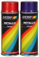 MOTIP METALLIC PAINT RED 400ML (1PC)