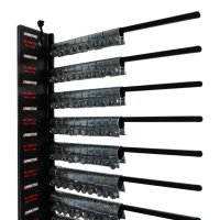 PIN RACK + HOSE CLAMPS 200-PIECE (1PC)