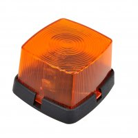 SIDE MARK LAMP ORANGE 66X62MM (1PC)