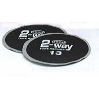 TECH 2-WAY INNER TUBE PATCH ROUND 80MM (20PCS)