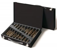 TWIST DRILL SET HSS-E COBALT 170-PIECE (1PC)