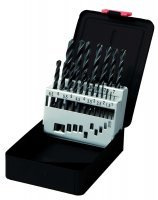 TWIST DRILL SET HSS FORGED 19-PIECE (1PC)