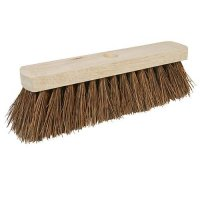 UNIMOTIVE BROOM HEAD STIFF BRISTLES (STICK Ø24) 30CM (1PC)