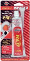 VERSACHEM RED SILICONE TYPE 650 BLISTER 85 GRAM (1PC)