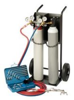 WELDING KIT GAS 10L (INCL ACETYL. & OXYGEN CYLINDER) (1PC)