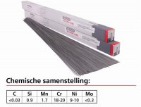 WELDING ROD STAINLESS STEEL 308LSI Ø 2.00 5KG (1PC)