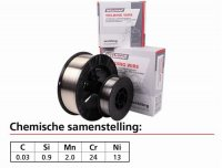 WELDING WIRE STAINLESS STEEL 316 LSI Ø 0.8MM 5KG (1PC)