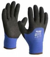WINTER GLOVE LINED BLUE BLACK NITRIL COATING MT11 (1 PAIR) (1PC)