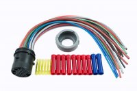 WIRING HARNESS REPAIR KIT BACKDOOR +OUT PROTECTIVE RUBBER OPEL/VAUXHAUL (1PC)